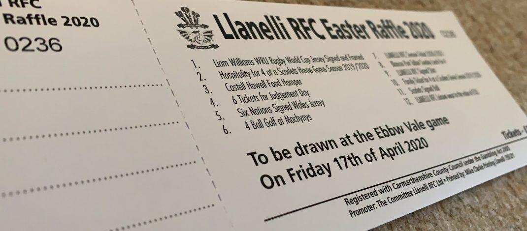 Llanelli RFC Easter Raffle Update