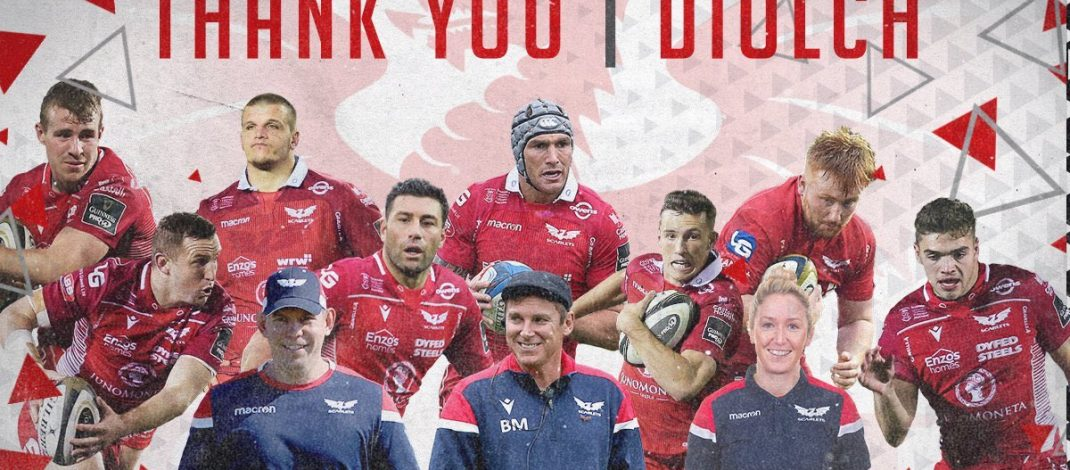 Scarlets Players/Coaches Departing