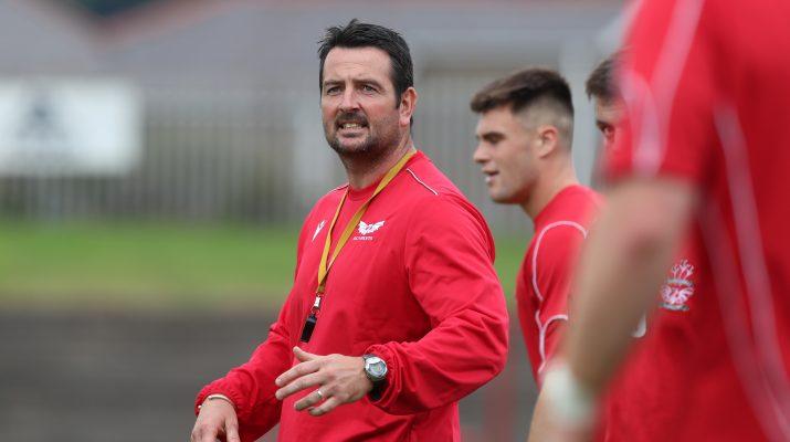 Llanelli RFC Head Coach Paul Fisher